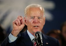 Democratic presidential candidate, former Vice President Joe Biden, speaks at a campaign event in Columbia, S.C., Tuesday, Feb. 11, 2020. (AP Photo/Gerald Herbert)