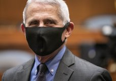 Director of the National Institute of Allergy and Infectious Diseases Dr. Anthony Fauci arrives testify before a House Committee on Energy and Commerce on the Trump administration's response to the COVID-19 pandemic on Capitol Hill in Washington on Tuesday, June 23, 2020. (Sarah Silbiger/Pool via AP)