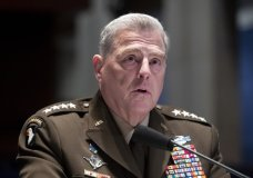 Chairman of the Joint Chiefs of Staff Gen. Mark Milley testifies during a House Armed Services Committee hearing on Thursday, July 9, 2020, on Capitol Hill in Washington. (Michael Reynolds/Pool via AP)