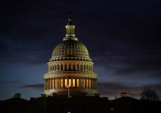 The Capitol is seen on the morning of Election Day, Tuesday, Nov. 3, 2020, in Washington. (AP Photo/J. Scott Applewhite)