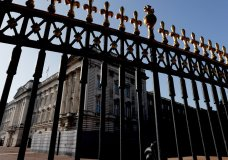 A view of Buckingham Palace, in London, Tuesday, March 9, 2021. Britain's royal family is absorbing the tremors from a sensational television interview by Prince Harry and the Duchess of Sussex, in which the couple said they encountered racist attitudes and a lack of support that drove Meghan to thoughts of suicide. (AP Photo/Frank Augstein)