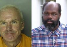 Bobby Paul Edwards (L) and John Christopher Smith