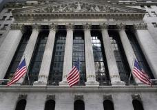 FILE - This Nov. 23, 2020 file photo shows the New York Stock Exchange in New York. Stocks are opening lower on Wall Street Tuesday, Sept. 28, 2021, led by more declines in Big Tech companies. (AP Photo/Seth Wenig, File)
