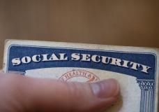 This Tuesday, Oct. 12, 2021, photo shows a Social Security card in Tigard, Ore. Millions of retirees on Social Security will get a 5.9% boost in benefits for 2022. The biggest cost-of-living adjustment in 39 years follows a burst in inflation as the economy struggles to shake off the drag of the coronavirus pandemic. (AP Photo/Jenny Kane)