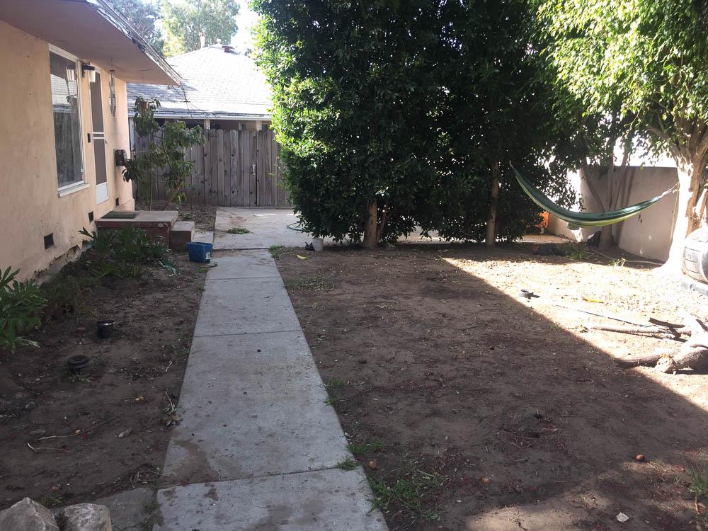 before california dirty yard
