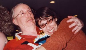 Em and me at the 2002 Farscape convention