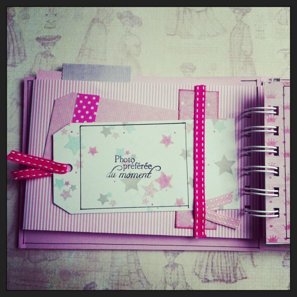Album scrapbooking naissance fille  (2/6)