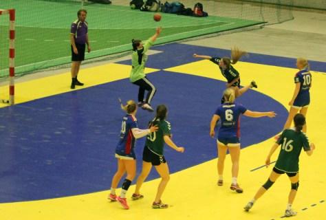Frosta Jenter 16 i godt driv mot LFH09 (Lillehammer Fåberg)