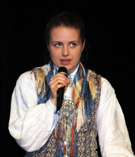 Ord for dagen ved elevrådsleder Maja Aakerholm Reitan