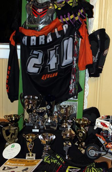 Harald Røsvik har hatt Motorcross som prosjektoppgave siste år.