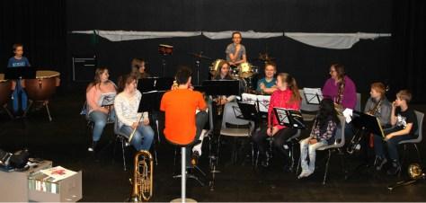 Frosta skolemusikk med nye aspiranter