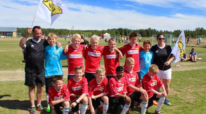 Debuterte med bronsjeplass i Storsjøcupen