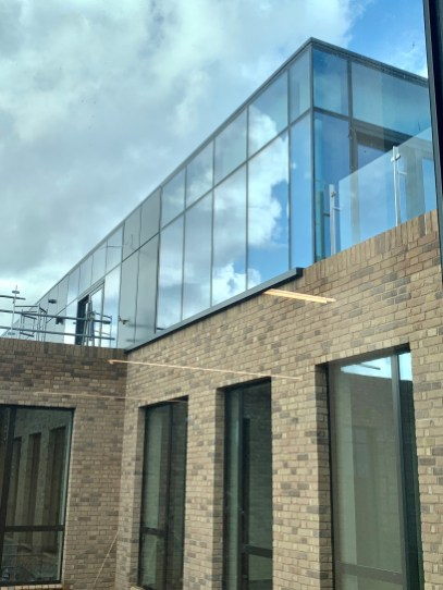 Glass Rooftop Extension