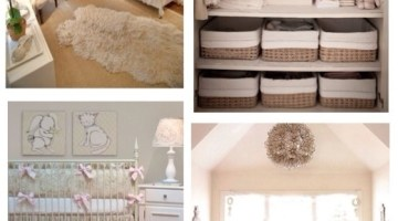 Nursery Design- Soft Neutrals Inspiration Board www.frostedevents.com