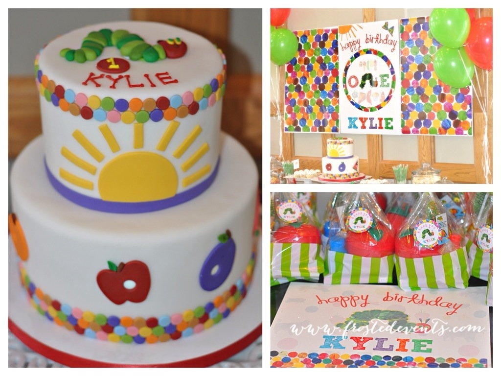 The Very Hungry Caterpillar First Birthday Party - Kids Party Ideas frostedevents.com