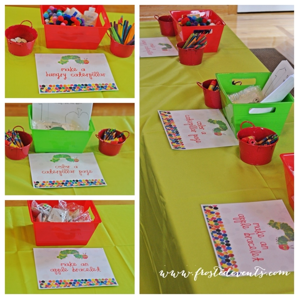 A Very Hungry Caterpillar First Birthday Party