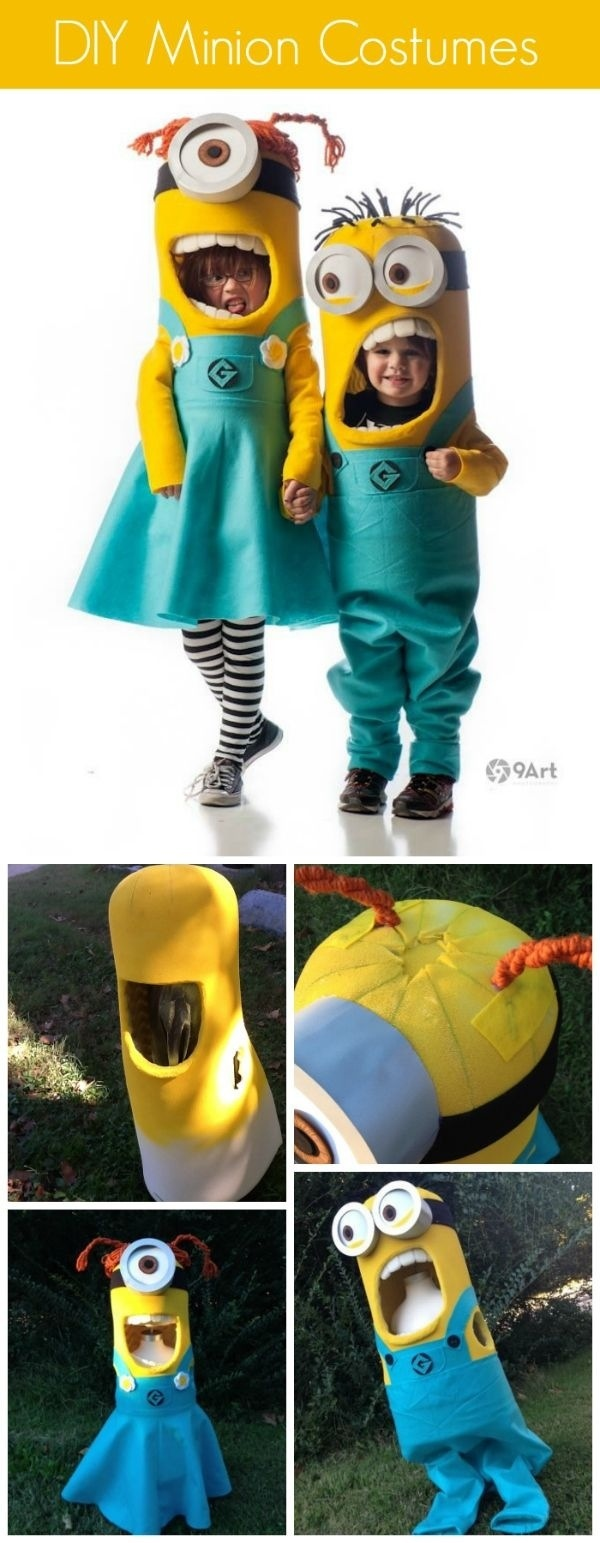 Most Popular Halloween Costumes- Despicable Me Minion Kids Costume- www.frostedevents.com DIY ideas