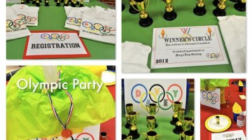 Olympic Theme Birthday Party www.frostedevents.com
