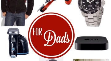 Holiday Gift Guide for Dads www.frostedevents.com Top Christmas Gift Ideas for Fathers