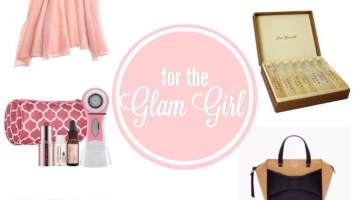 Holiday Gift Guide for the Glam Girl www.frostedevents.com Christmas Gift List for Her