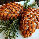 Pinecone Cheese Ball Party Food Appetizers