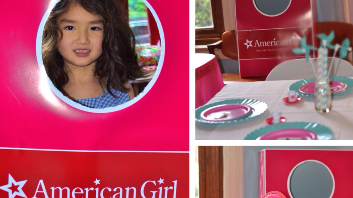 American Girl Doll Box Photo Prop DIY Make www.frostedevents.com