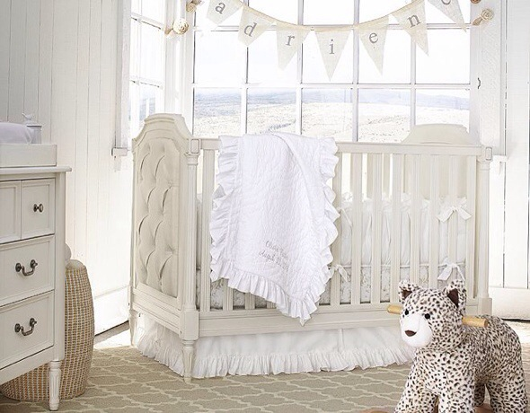 White Nursery Ideas and Inspiration