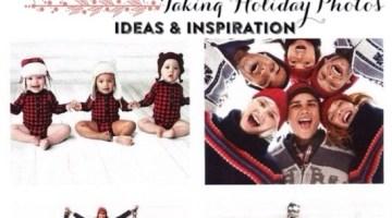 Holiday Card Ideas- Taking Family Christmas Photos