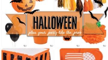 Halloween- Plan Your Party Like the Pros- Jack-O-Lantern Pumpkin Theme