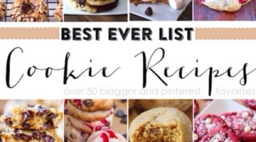 Best Cookie Recipes from Pinterest- Cookie Exchange www.frostedevents.com