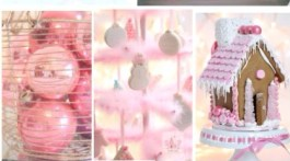 Pink Christmas Ideas and Inspiration- Pink Holiday
