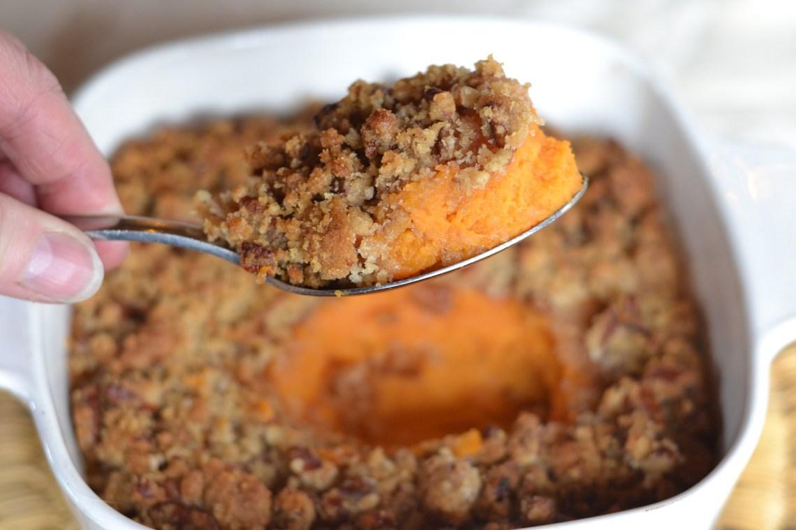 Thanksgiving Dinner Menu ideas- Sweet Potato Casserole Side Dish Recipes