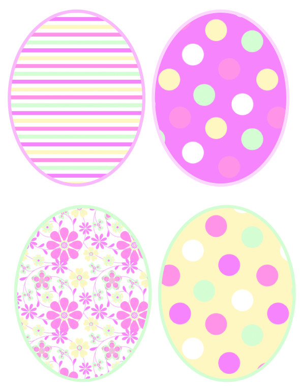 Easter Printables Cute Easter DIY Easter activities for kids via frostedevents.com