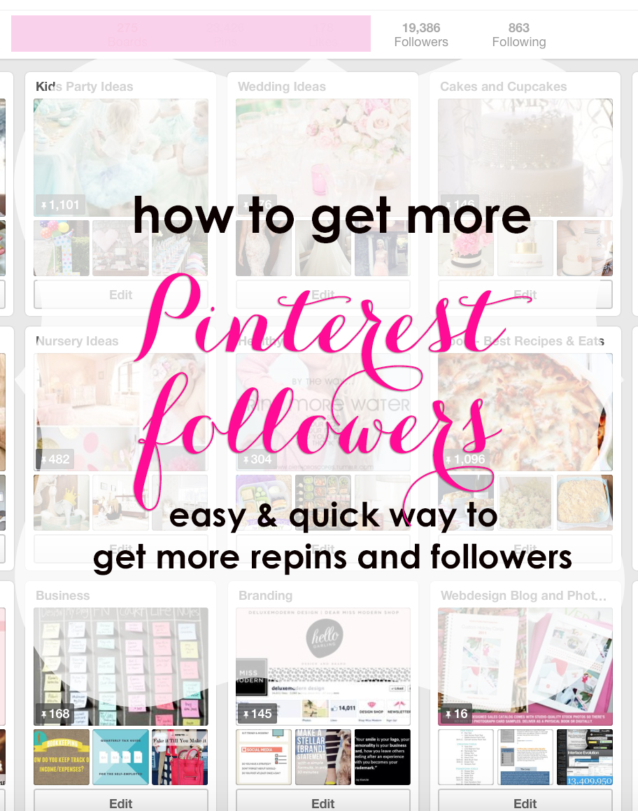 How to Get More Pinterest followers and reins