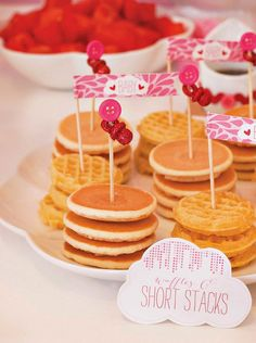 mini pancakes and waffles mini tea sandwhiches recipe baby shower
