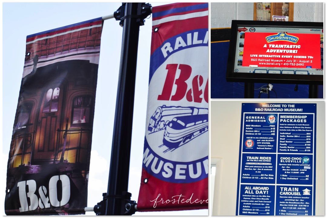 Chuggington Train at Baltimore and Oregon Railroad