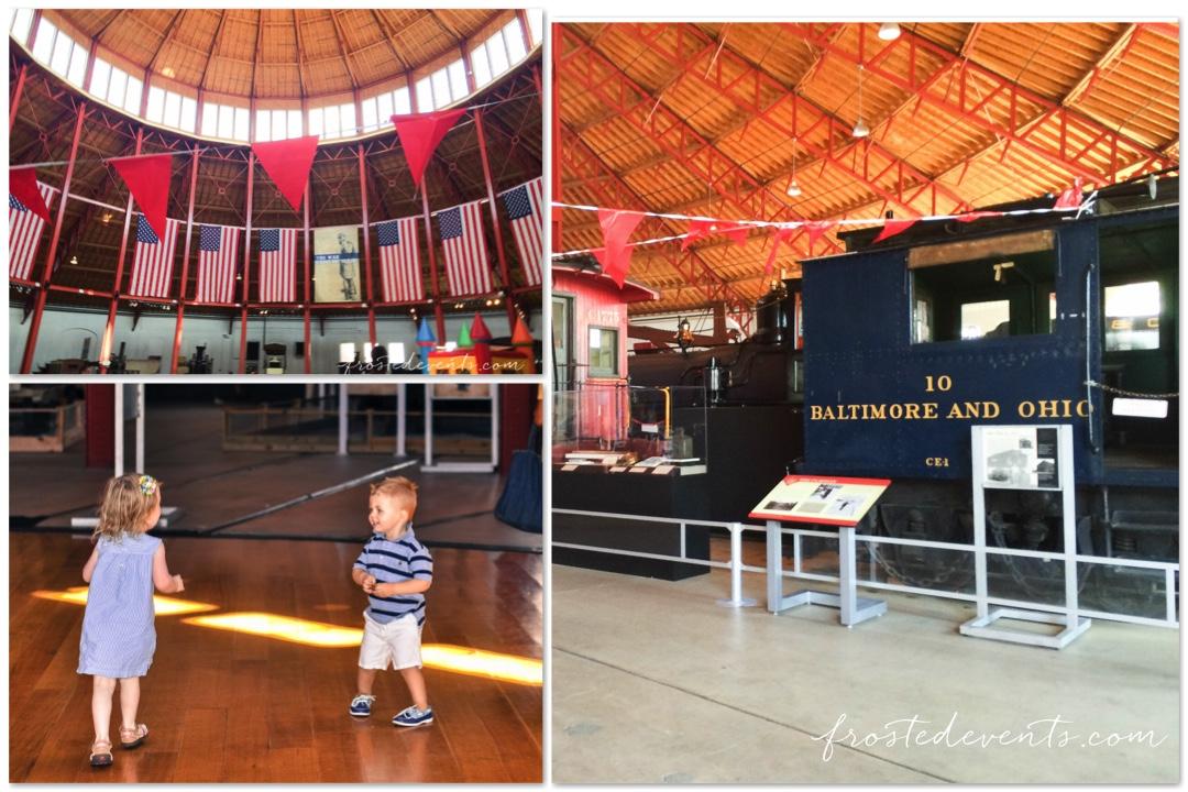 Chuggington Train at Baltimore Railroad Museum Maryland