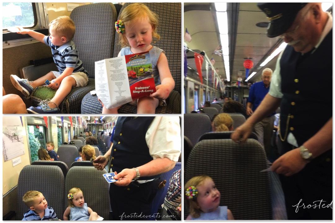 Chuggington Train at Baltimore and Oregon Railroad Museum Trains Maryland Kids Riding the Train