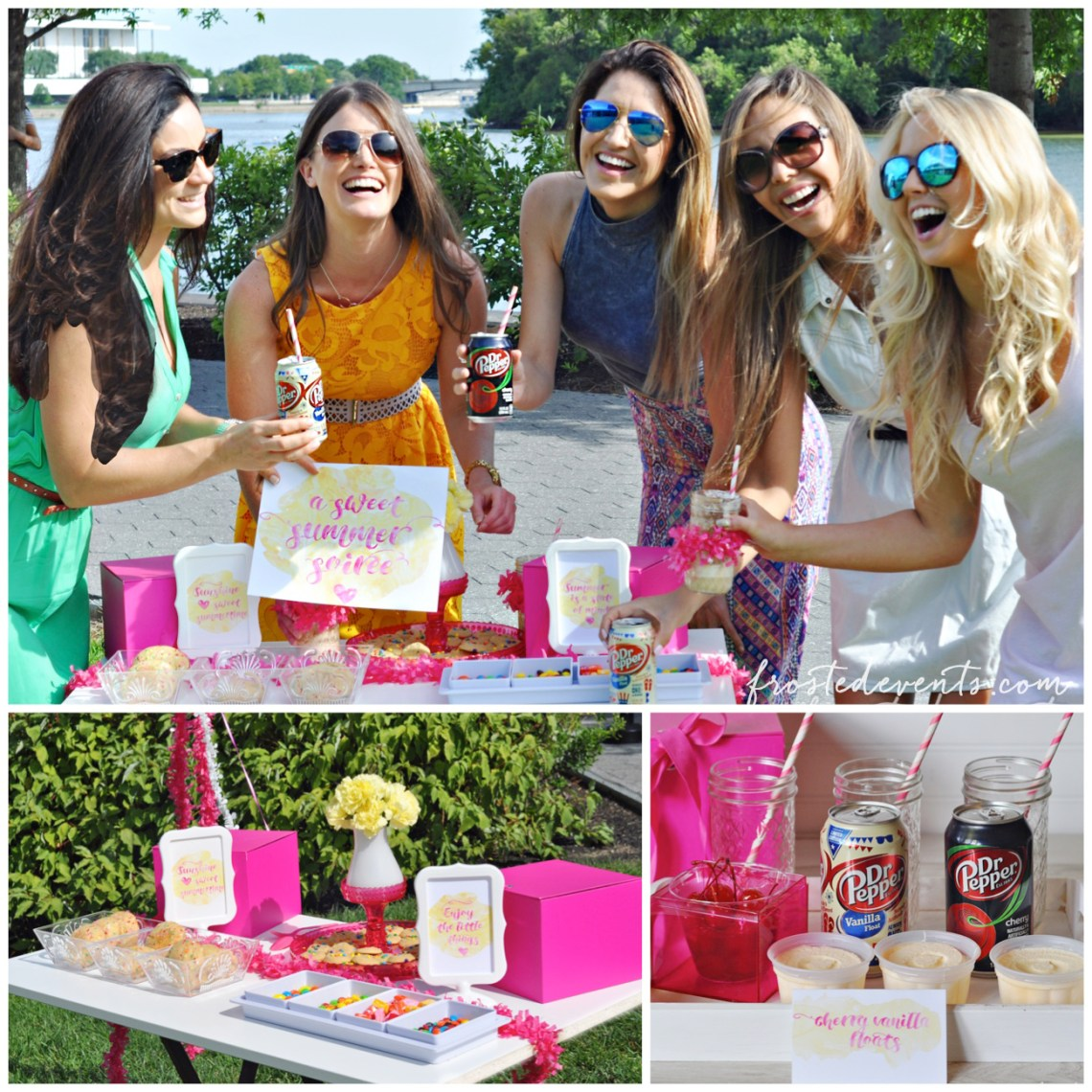 Best Summer Ever! A Sweet End of Summer Soiree #ShareFunshine #ad Summer Party Ideas