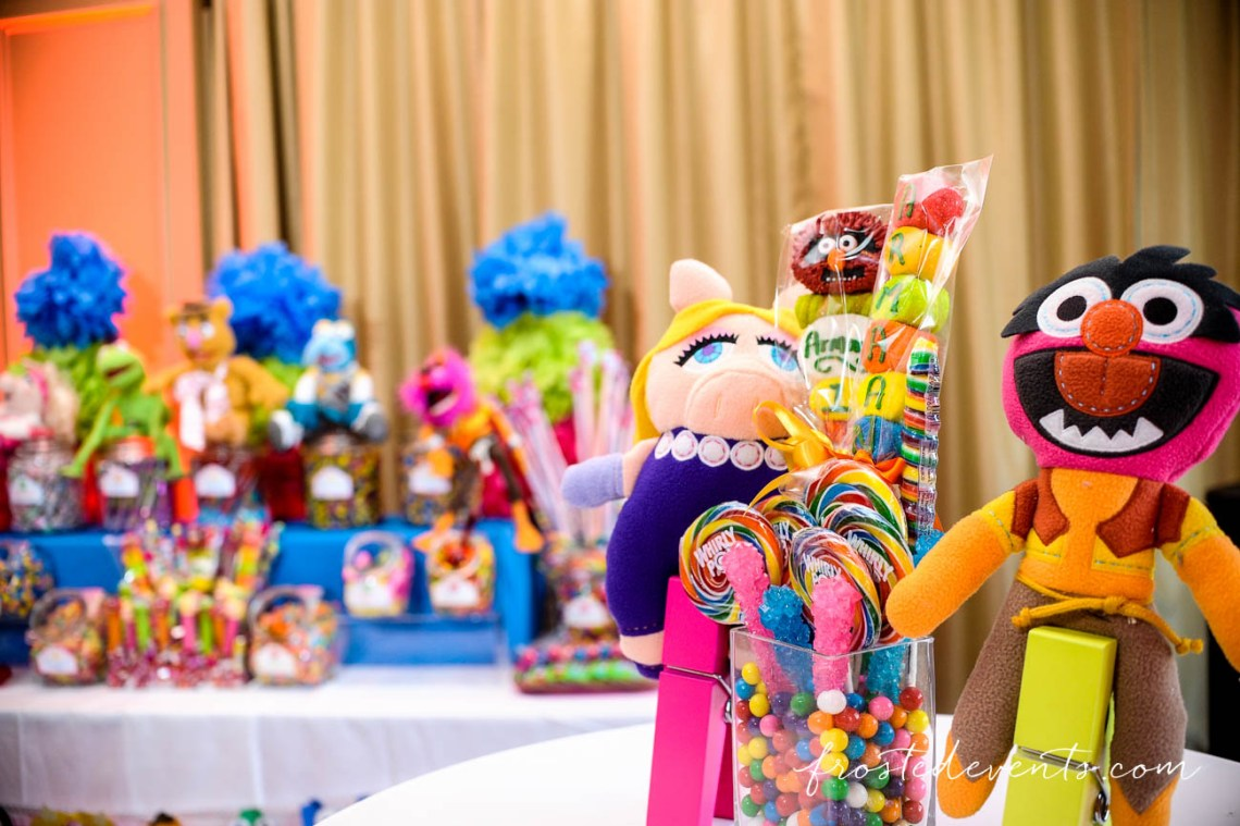 The Muppet Show - Muppets TV Show- The Muppets Show- Muppets Party Birthday - muppet party decorations #muppets