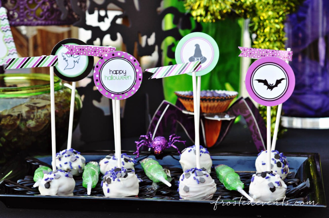 Free Printable Party Set! Halloween Party Themes - Monster Mash Fun Halloween Party for Kids Ideas + Halloween Printables