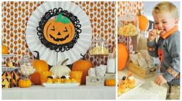 Halloween Ideas for Kids- Halloween Party Pumpkin Theme frostedevents.com