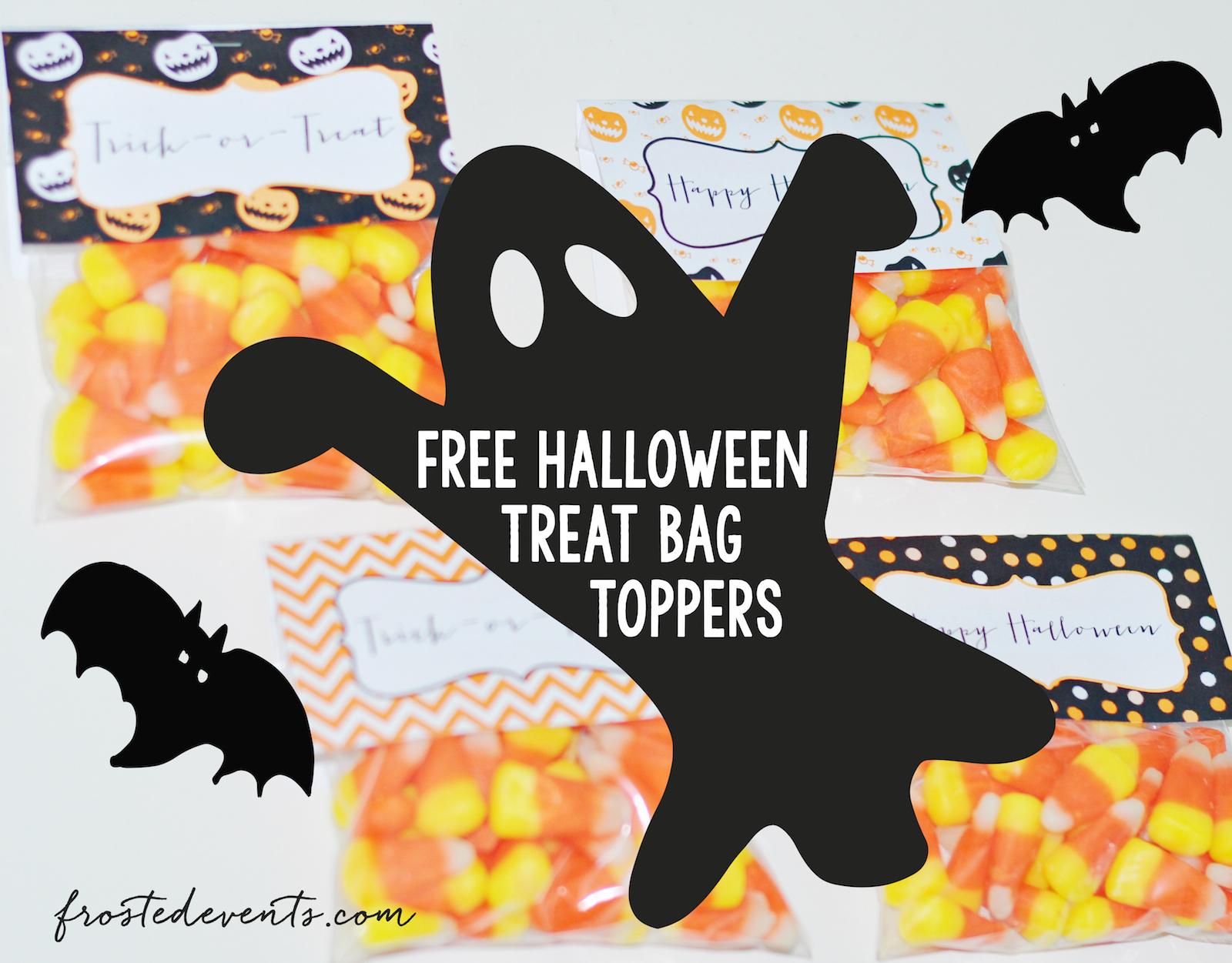 Halloween Treats For Kids Free Printable