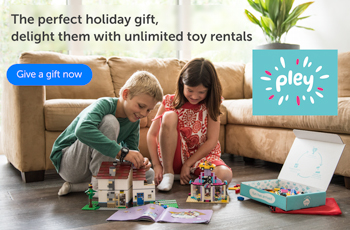 Pley Toy Rental Service Review by Mom