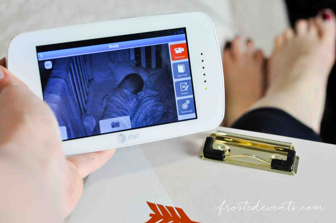 Baby's Journey ATT Baby Monitor Moms Must Have Baby Registry List @frostedevents Best Baby Monitor