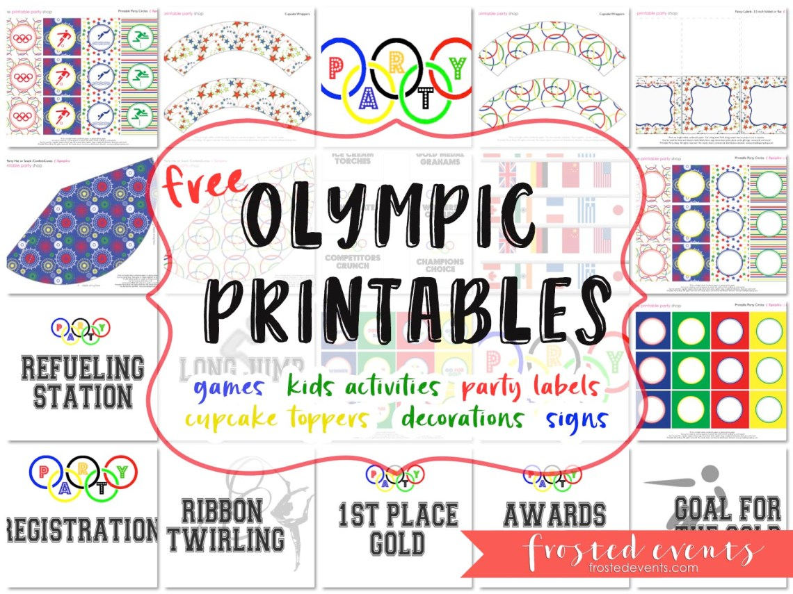 Olympic Themed Party Food For Kids