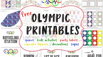 Olympics for Kids Olympic Games and Free Party Printables