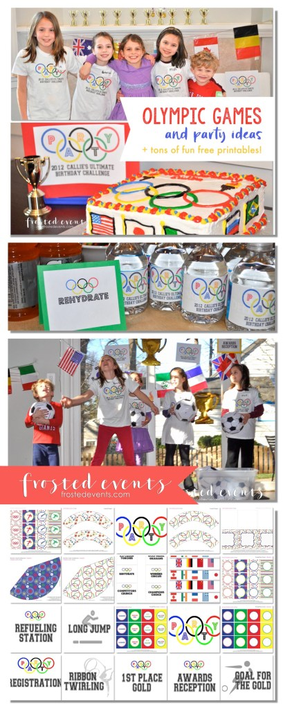 Olympic Games for Kids Free Printables and Olympic Party Ideas