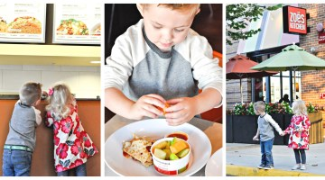 Zoe's Kitchen's New Kids Menu by mom blogger Misty Nelson @frostedevents