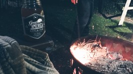 Fall Weekend Activities Football Fireside Campfire Drinking with Friends via @frostedevents Drink Great America
